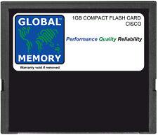 1GB Flash Compatto scheda memoria per Cisco 10000 Router pre-3 (mem-10k-cptfl1g)