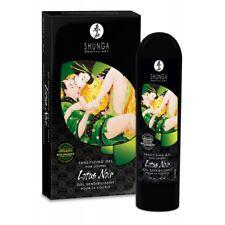 Shunga Gel sensibilisant pour couple Lotus noir 60 ml ingrédients naturels bio