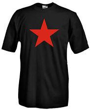 Maglia Stella Rossa E15 Activism Comunismo Che Guevara Urss T-shirt 100% cotone