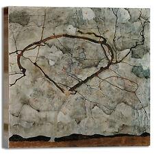 Schiele albero autunno 2 design quadro stampa tela dipinto telaio arredo casa