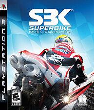 SBK Superbike World Championship PS3 Playstation 3 Complete Kids Super Bike