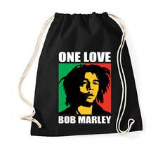 Original Schwarzmarkt Baumwollbeutel Turnbeutel One Love Bob Marley Peace
