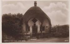 Umbrella Cottage - Lyme Regis Real Photo Postcard c1930
