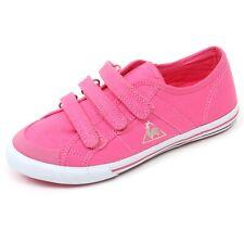 C3648 sneaker bimba LE COQ SPORTIF SAINT MALO scarpa rosa strappi shoe kid