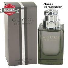 Gucci Cologne POUR HOMME FOR MEN 3.0 / 1.6 oz 50 ML GUCCI EDT SPRAY NEW