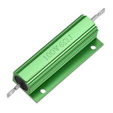2pcs Aluminum Housing Resistor 100W 0.1-8 Ohm for LED Replacement Converter