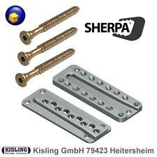 Sherpa Balkenträger XS10 - S20 - M30 - M40 mit passenden Spezial-Schrauben