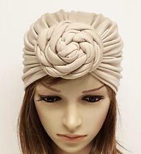 Top turban large bun turban, doughnut  turban, rosette turban, front knot turban