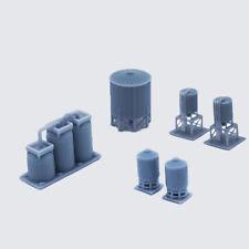Outland Models Model Railroad Industrial Gas / Fuel Tank 1:220 Gauge Z