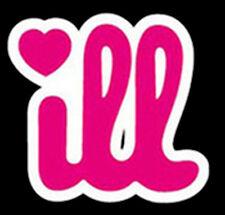 Ill Illest Philly Philadelphia Love Heart Neon Pink Design T-Shirt Tee