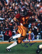 USC Trojans Charles White Signed 8x10 Photo #2 1979 HEISMAN TROPHY WINNER
