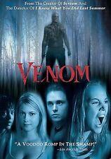 VENOM rare Horror dvd Louisiana Swamps JONATHAN JACKSON Bijou Phillips Mint Ln