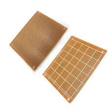 One Side PCB Board 7cm x 9cm Prototype Bakelite Stripboard Drilled Hole 2.54mm
