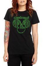 Deadmau5 Green Zebra Girls T-Shirt