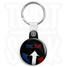 The Jam Classic Album Keyring Button Badge - 25mm Mod Keyrings, Zip Pull Option