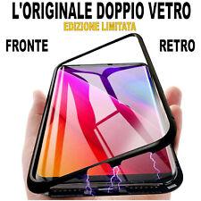 COVER per Samsung Galaxy S10 / S10e / Plus alluminio L'ORIGINALE DOPPIO VETRO