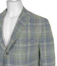 NEW Boglioli Sportcoat (Jacket)!  Linen & Silk Plaid  Unstructured Casual Luxury