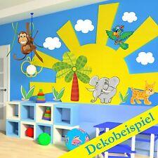 Sticker mural pour chambre d'enfant du bébé des jeunes muraux singe pirate