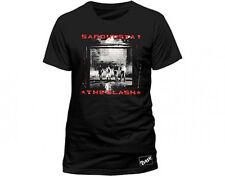 Ufficiale The Clash-SANDINISTA-Uomo Nero T-shirt