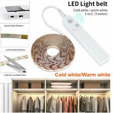 Wireless PIR Motion Sensor LED Strip Night Lights Wardrobe Cabinet Closet Lamp