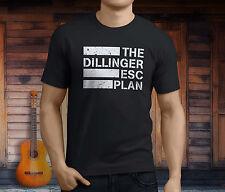 New The Dillinger Escape Plan Metal Band Men's Black T-Shirt Size S-3XL