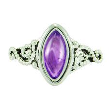 925 Sterling Silver Amazing Amethyst Designer Ring ASZ-L O Q S