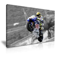 Valentino Rossi campeón mundial de MotoGP LONA pared arte Foto impresión ~ 9 Tamaños
