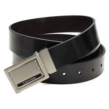 Calvin Klein CK Men's Reversible Leather Buckle Belt 3 Piece Gift Box Set 74203