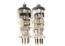 PAIR MAZDA V888 CV138 Pinched Waist Tubes Z77 UK EF91 6AM6 Test NOS Little Dot