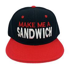 Make Me A Sandwich (Funny) Snapback Cap