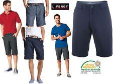 Livergy Casual Bermuda Hose Short Herren Mode Herrenmode Blau Leicht Sommer NEU