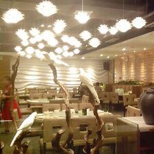 DIY Bedroom Pendant Lampshade Cafe Bar Chandelier Lotus White Room Decoration
