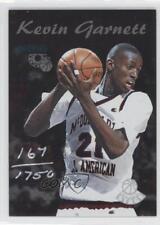 1995 Classic Rookies Center Stage CS4 Kevin Garnett McDonald's All American Card