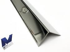 2,5m Edelstahlwinkel Eckschutz gleichschenkelig 2500mm AUSSEN 3D spiegelnd