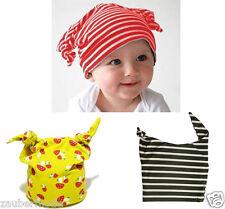 Beanie Kinder Mütze Zipfelmütze Hut Jungen Mädchen Baby (6-18 Monat) KU 41-50 cm
