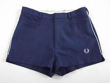 VINTAGE Da Uomo Fred Perry Retrò PREPPY Pantaloncini Da Tennis Sportive Casual College 70 S 80 S