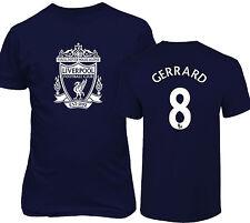 Liverpool F.C. Shirt Steven Gerrard #8 Jersey Men & Youth T-shirt