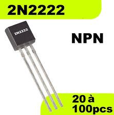 1502# Transistor 2N2222 NPN -- Prix dégressif en fonction de la quantité