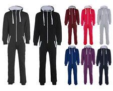 Unisex Adults Plain 1Onesie - Plus Size Men Women All in One Jumpsuit Playsuit
