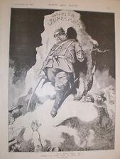 British v Boers Heny Hy Mayer cartoon 1899 old print