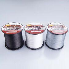 Black/White/Gray 100M~1000M  6-300LB Dyneema 100%PE Dorisea Braid Fishing Line