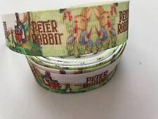 "Grosgrain Peter Rabbit Ribbon 7/8"" 22mm"