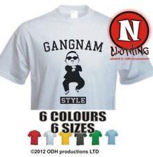 GANGNAM STYLE PSY Collège Uni coréen DANSE MUSIQUE partie T-shirt