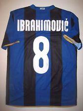 2007 Nike Inter Milan Zlatan Ibrahimovic Jersey Calcio Maglia Manchester United