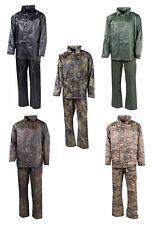 Impermeable Chaqueta Pantalón de lluvia Protección HUMEDAD BW ARMY Combi