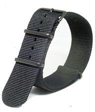 Praetorian® NATO G10 Armband Schwarz PVD - Uhrenarmband - MOD Standard