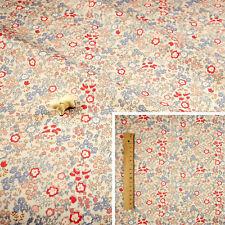 RED WHITE Fat Quarter//SquareFQ Cotton Sewing Craft Fabric Petite Glitter Hearts
