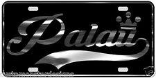 Palau License Plate All Mirror Plate & Chrome and Regular Vinyl Choices