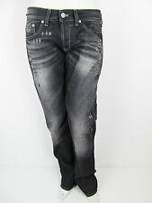 Denny Rose Denim Baggy Boyfriend Hose Pants Jeans Strass Schwarz Neu S 26 27 28