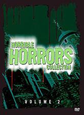 HORRIBLE HORRORS COLLECTION - VOLUME 2 - RHINO - 8 FILMS - (2) DVD SET